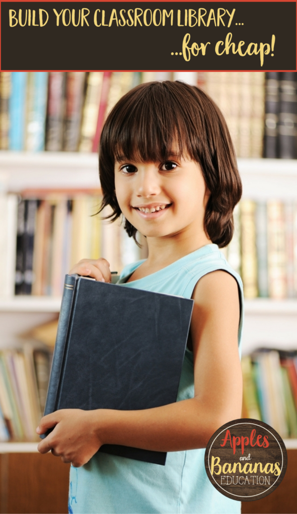 how to build a classroom library for cheap
