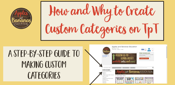 How to Create Custom Categories