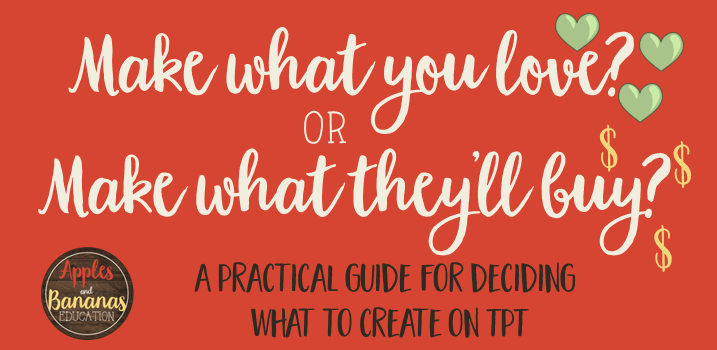 What to Create on TpT