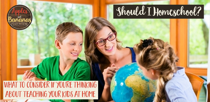 Parent deciding whether or not to homeschool children