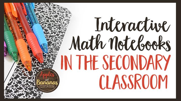 inb math notebooks secondary