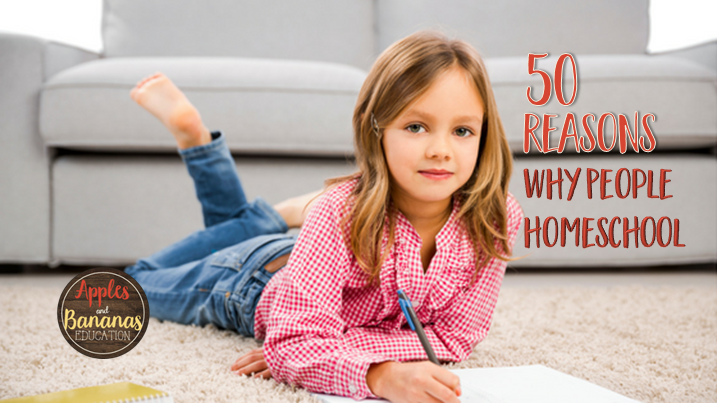 reasons people homeschool