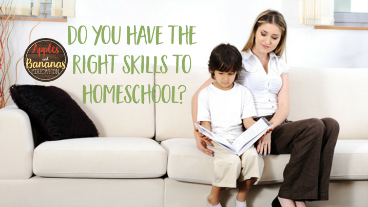 skills needed to homeschool