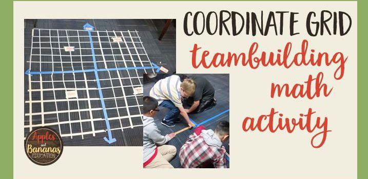 Coordinate Grid Team Building Activity