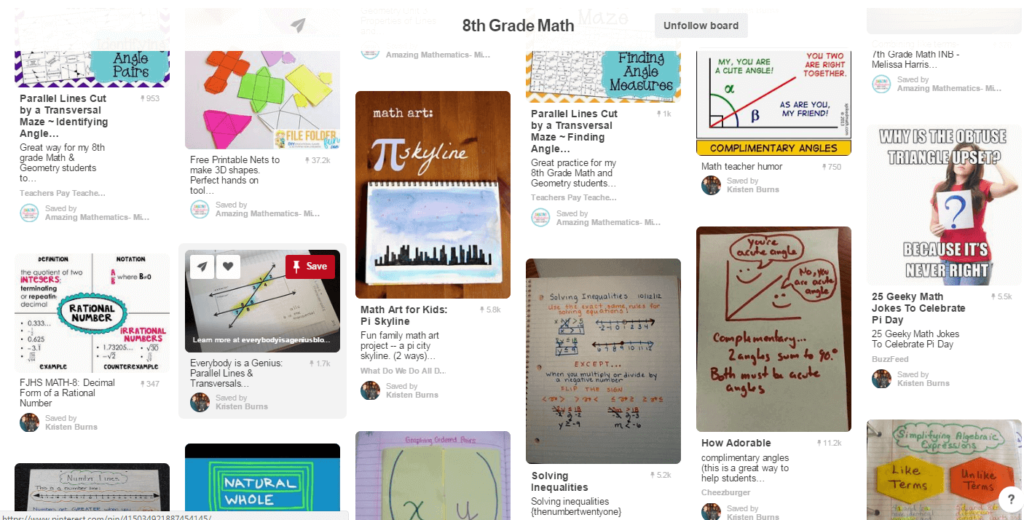 Amazing Mathematics Pinterest