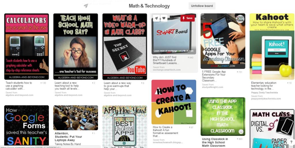 Algebra and Beyond Pinterest