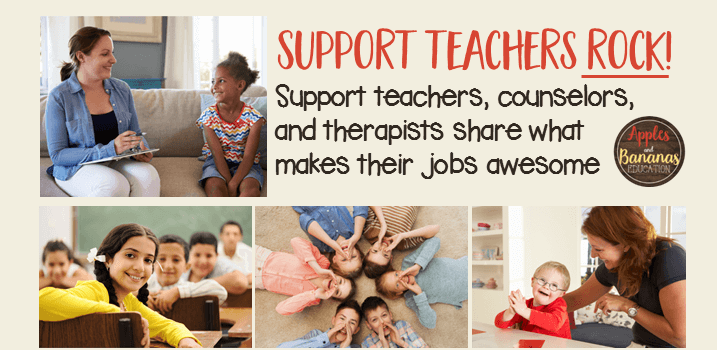 Support Teachers ROCK!