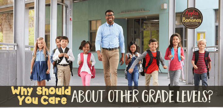 getting outside of your grade level