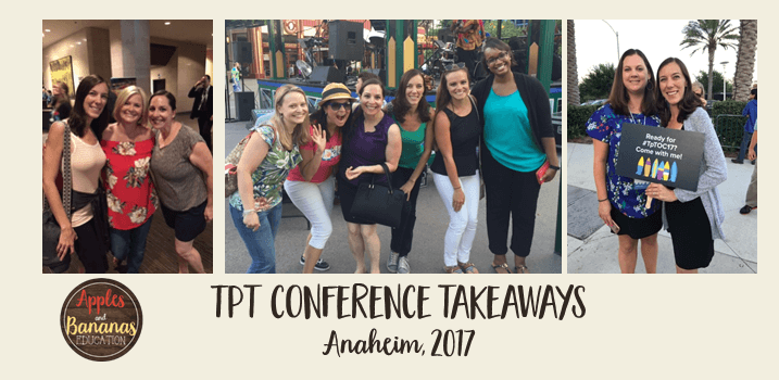 TpT Conference Takeaways