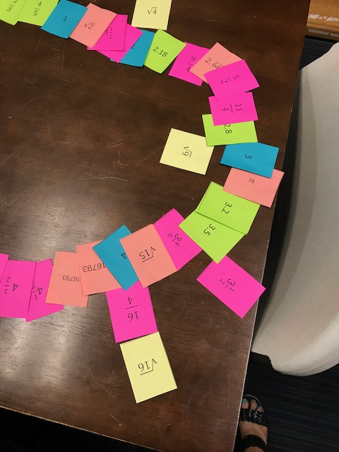 advanced number line activity