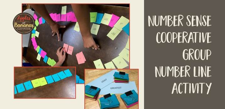Number Sense Cooperative Group Activity