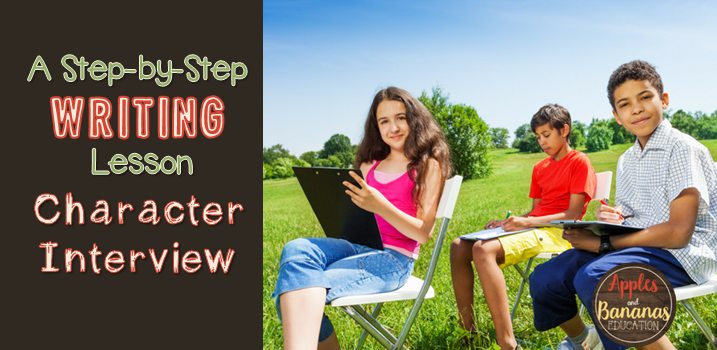 Character Interview – A Short Story Writing Activity