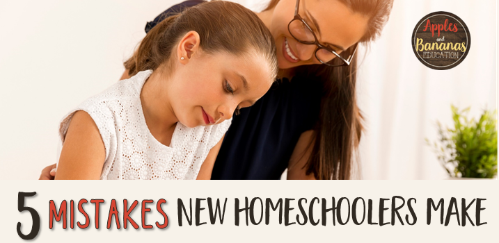 5 Mistakes New Homeschoolers Make