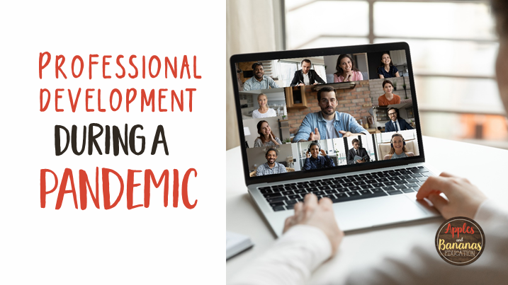 Professional Development During a Pandemic blog post cover
